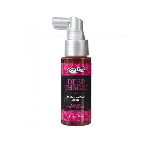 Good Head Deep Throat Spray - Sweet Strawberry - realistic enterprises llc