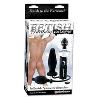 Fetish Fantasy Extreme Inflatable Sphincter Stretcher - Black - realistic enterprises llc