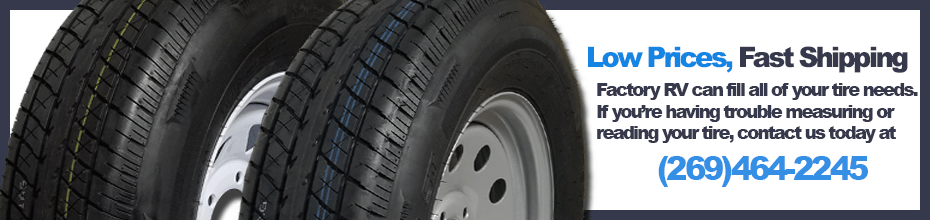 FactoryRVSurplus.com Trailer Tires, RV Tires, RV Wheels,