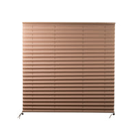 "Camper Comfort 38"" x 38"" Cappuccino RV Pleated Shade"