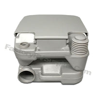 Heng's 2.5 Gallon Portable Toilet Color: Grey (2401)
