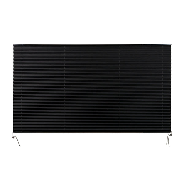 "Camper Comfort 74"" X 42"" Black RV Pleated Shade"
