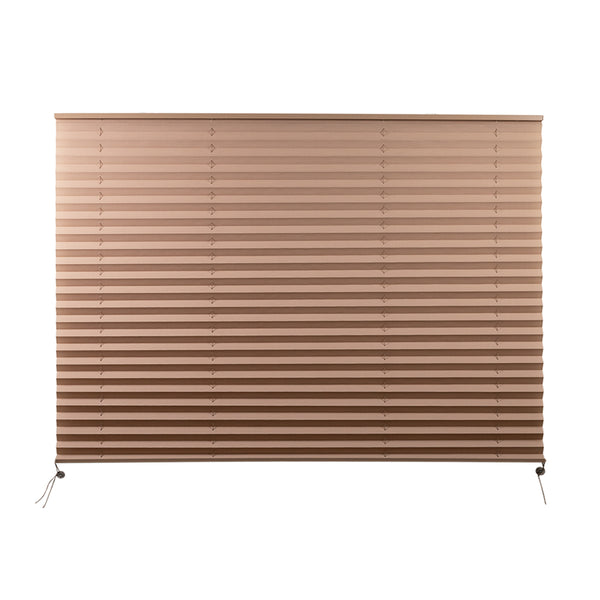 "Camper Comfort 50"" x 38"" Cappuccino RV Pleated Shade"