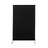 "Camper Comfort 26"" X 38"" Black RV Pleated Shade"