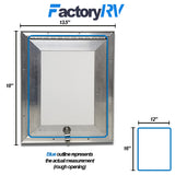 "12"" Wide X 16""High 