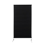 "Camper Comfort 20"" X 38"" Black RV Pleated Shade"