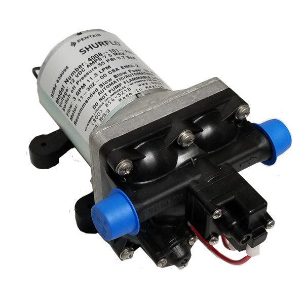 SHURFLO 4008-101-A65 New 3.0 GPM RV Water Pump Revolution, 12V