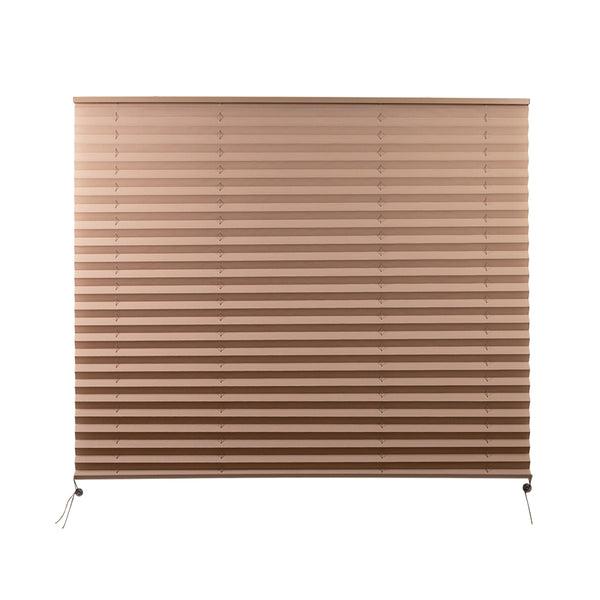 "Camper Comfort 44"" x 38"" Cappuccino RV Pleated Shade"