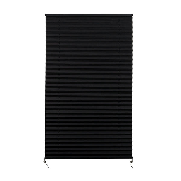 "Camper Comfort 29"" X 50"" Black RV Pleated Shade"
