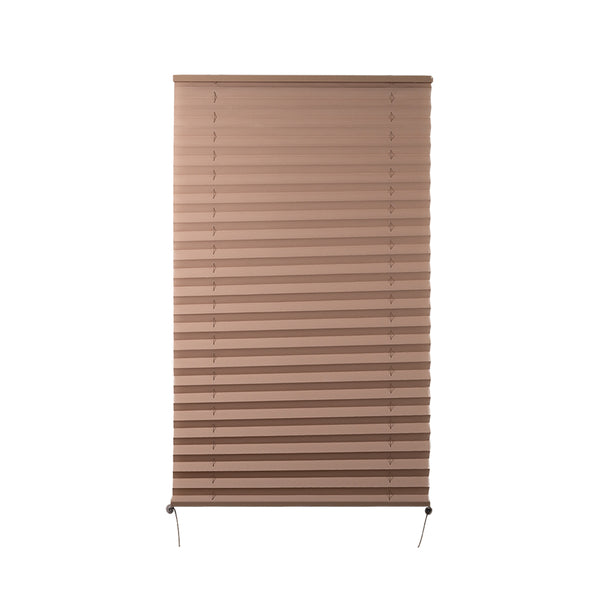 "Camper Comfort 20"" x 38"" Cappuccino RV Pleated Shade"