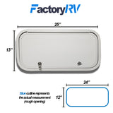 "24""Wide X  12""High 