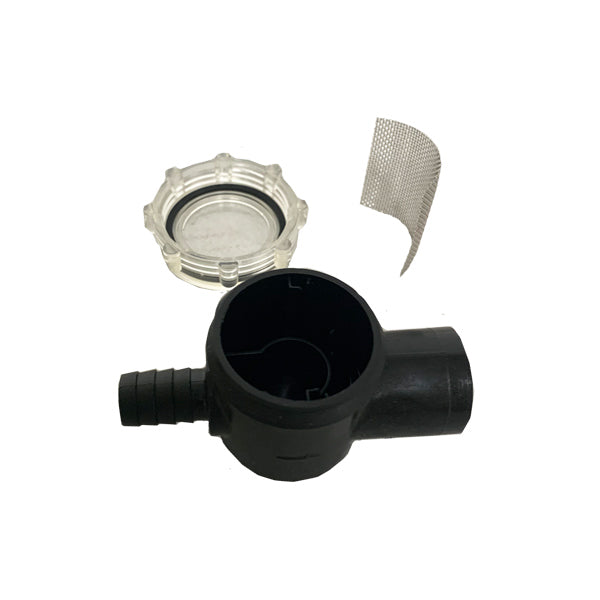 WFCO (ARTISSTR01B) Barbed Style Pump Filter/ Strainer