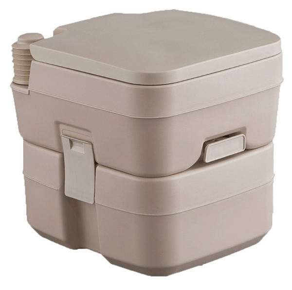Heng's 5 Gallon Portable Toilet Color: Tan (2202)