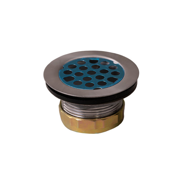 "ToughGrade RV Shower Drain 1-1/2"" Strainer with Grid"
