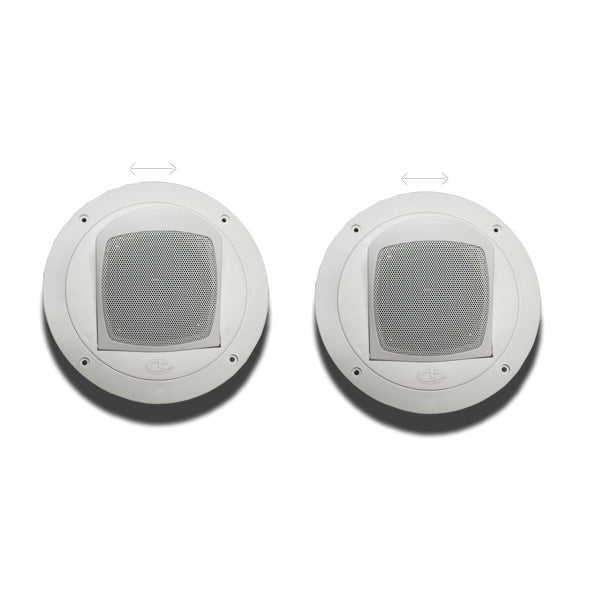 Ceiling Mount Satellite Speakers RV Theater Surround, 2 Pack