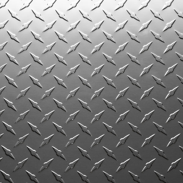 Tough Grade Aluminum Tread Plate (ATP) Sheet Metal 48 x 96