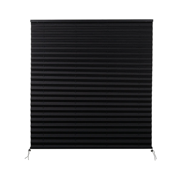 "Camper Comfort 38"" X 38"" Black RV Pleated Shade"