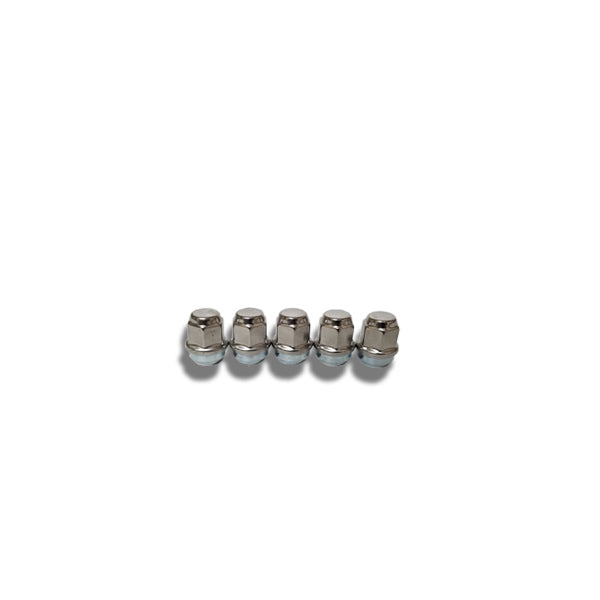 ToughGrade 1/2 Chrome Lug Nut 3/4 Head 5 Pack