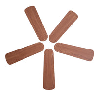 42-Inch Oak/Walnut Replacement Fan Blades, Five-Pack