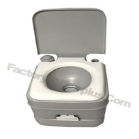 Portable Toilet Grey# 2401 Camping Accessories | FactoryRVSurplus.com