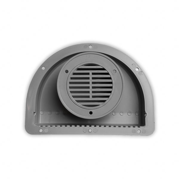 ToughGrade RV ATV Cargo Trailer Side Air Vent Grey