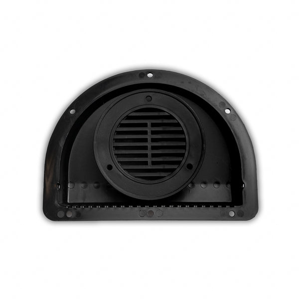 ToughGrade RV ATV Cargo Trailer Side Air Vent Black
