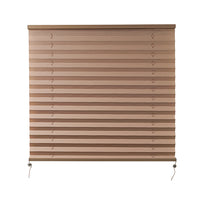 "Camper Comfort 26"" X 24"" Cappuccino RV Pleated Shade"