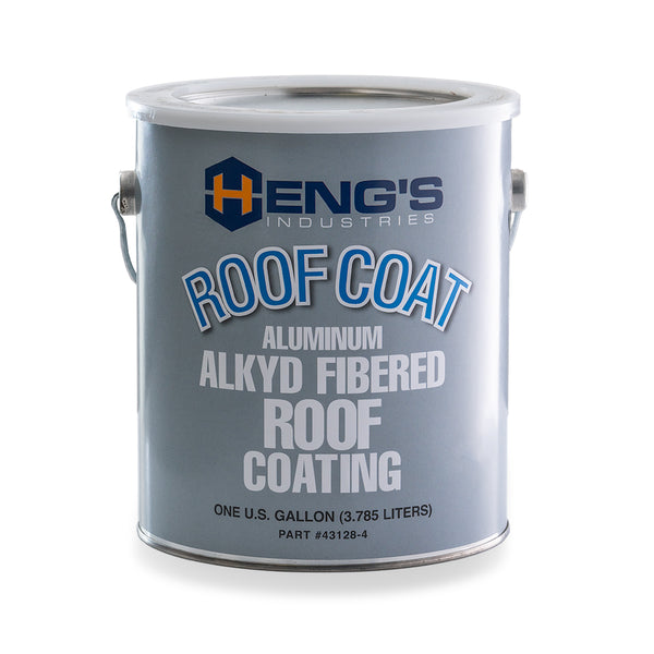 Heng's Aluminum Alkyd Fibered Roof Coating (43128-4)