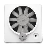 Heng's 90043-CR Replacement Vortex I Fan