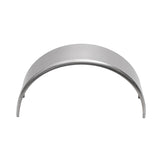 "2-Pack Aluminum Smooth Round Top Trailer Fender 10"" X 34"" X 17"""