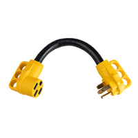 ToughGrade RV Adapter 50A Male to 50A Female 18in.