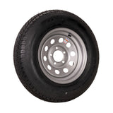 "14"" Silver Mod Trailer Wheel ST205/75D14 Tire Mounted (5x4.5) Bolt Circle"