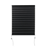 "Camper Comfort 17"" x 24"" Black RV Pleated Shade"