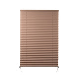 "Camper Comfort 26"" x 38"" Cappuccino RV Pleated Shade"
