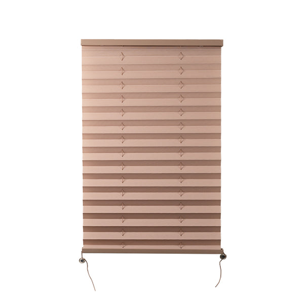 "Camper Comfort 17"" x 26"" Cappuccino RV Pleated Shade"