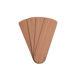 42-Inch Black/Blonde Replacement Fan Blades, Four-Pack