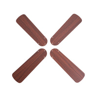 42-Inch Oak/Walnut Replacement Fan Blades, Four-Pack