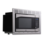 Tough Grade RV/Camper Microwave .9 CuFt with Trim Kit | Stainless Steel