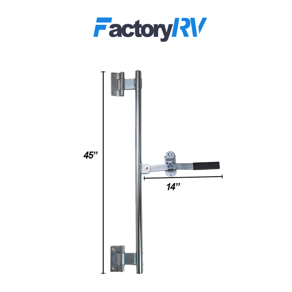 Accessories 45 Cam Bar Lock Assembly Side Door Enclosed Trailer RV ...