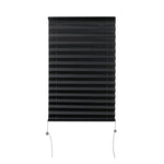 "Camper Comfort 14"" x 24"" Black RV Pleated Shade"
