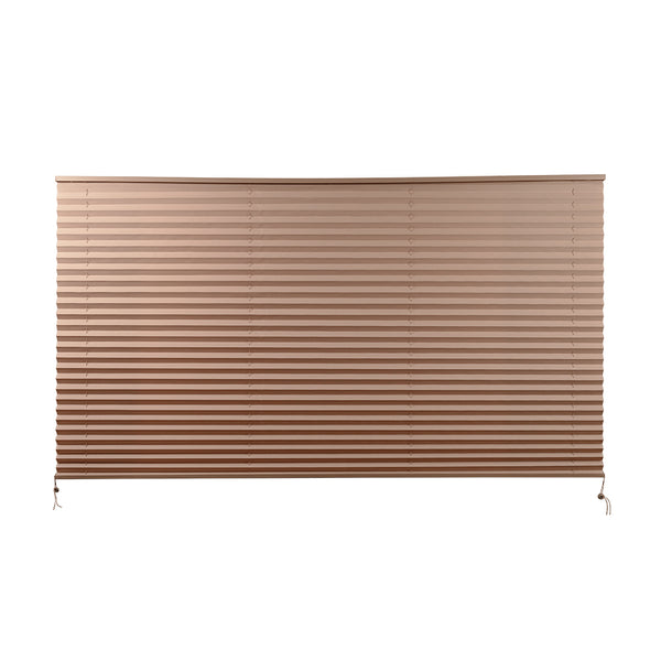 "Camper Comfort 74"" x 42"" Cappuccino RV Pleated Shade"