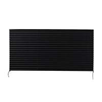 "Camper Comfort 62"" X 32"" Black RV Pleated Shade"