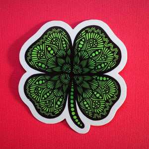 Zenspire Designs - Four Leaf Clover Sticker