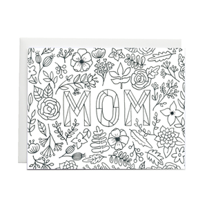 Forage Paper Co. - Mom Coloring Card