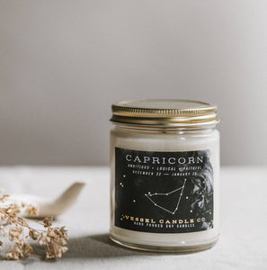 Vessel Candle Co. - Capricorn - Zodiac Collection