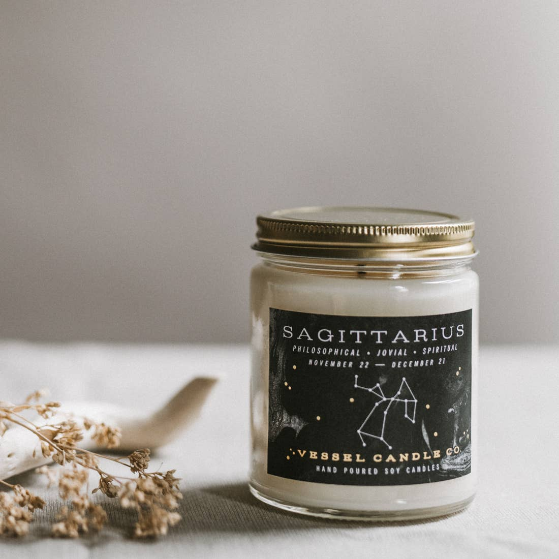 Vessel Candle Co. - Sagittarius - Zodiac Collection