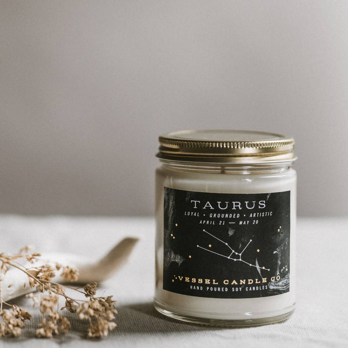 Vessel Candle Co. - Taurus - Zodiac Collection