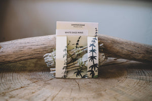 Juniper Ridge - Natural Incense - White Sage Minis