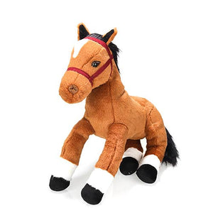 "Plushland - E1: Farm Group 14"" Resting Horse"