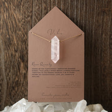 Load image into Gallery viewer, Vibe - Single Stone - Large Rose Quartz
